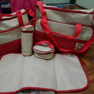 Baby Diaper Bag 5 in 1