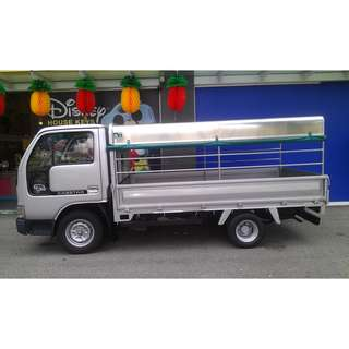 Canopy Lorry!! Open Lorry!! Rental for vehicle monthly OR Long term contract