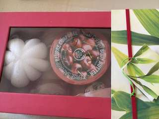 THE BODY SHOP Wild Cherry body & bath set