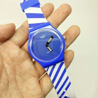 swatch whatever biru