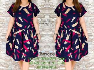 Emcee dress fits upto 3XL