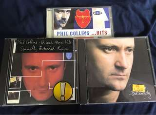 PHIL COLLINS CD. ( 3 for $18)