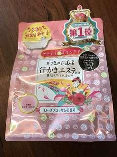 Bathing salt from Japan