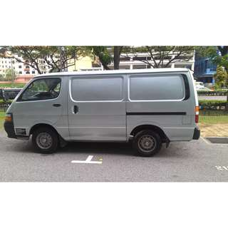 Toyota Hiace!!! Toyota Liteace Van!! Rental for vehicle monthly OR Long term contract