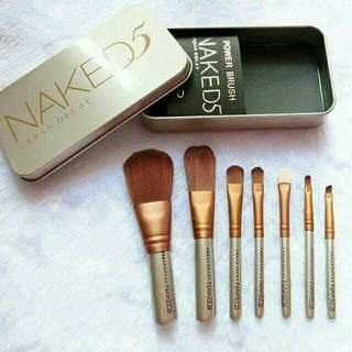 Naked brush 7 in 1 set