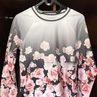 REPRICE !! PRELOVED SWEATER FLOWER