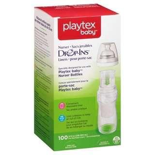 Playtex Drop Ins Liners 8-10oz
