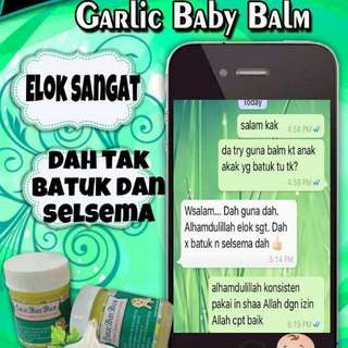 Garlic baby balm