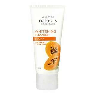 Naturals Papaya Whitening Cleanser 50g