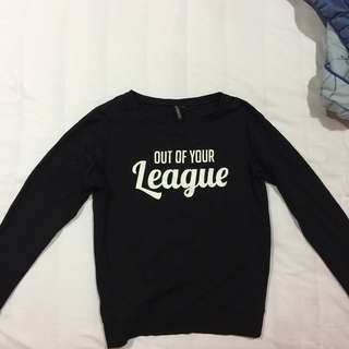 H&m Out Of Your League Sweater