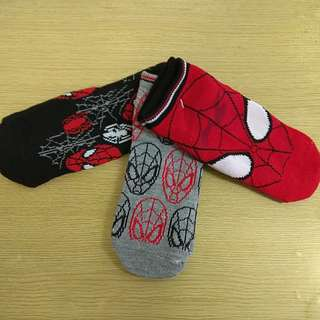 BN Spiderman Boy Socks 5 - 7Yo