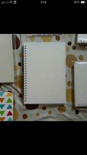 Muji Inspired Dotted Notebook A5