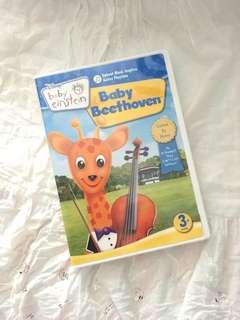 Charity Sale! Disney Baby Einstein Baby Beethoven 3months and older DVD