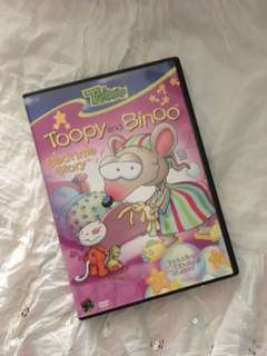 Charity Sale! Toopy and Binoo Treehouse Children's DVD Bedtime Stories