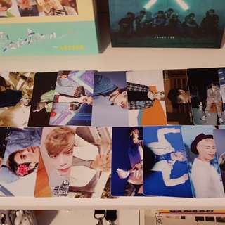 44 SHINee Jonghyun unofficial photocards kpop