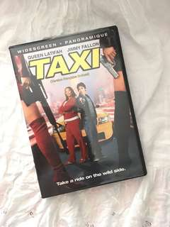 Charity Sae! TAXI Comedy DVD with Queen Latifah and Jimmy Fallon