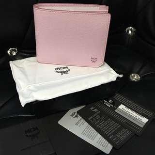 BNIB Authentic MCM Pastel Pink Wallet
