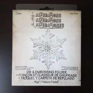 Sizzix Tim Holtz Layered Snowflake Dies
