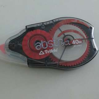 Corection tape