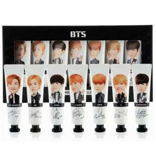 BTS Signed Hand cream Set + FREE GIFTS