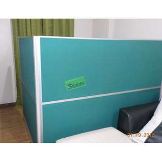 3.2 THICKNESS FULL FABRIC PARTITION OFFICE DIVIDER--KHOMI