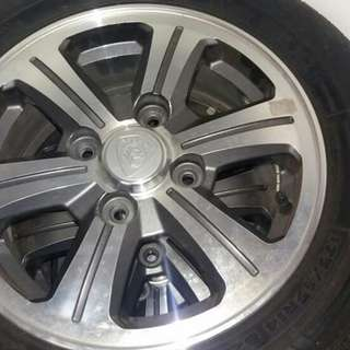 14' IRIZ STANDARD RIM TO LET GO
