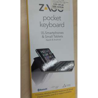 ZAGG Pocket Keyboard for Apple & Android