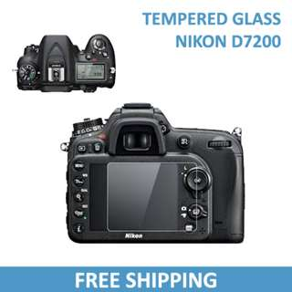 Nikon D7200 Tempered Glass Screen Protector