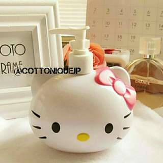 Hello Kitty Pump Liquid Bottle
