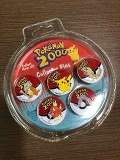 Pokémon 2000 Collector Pins