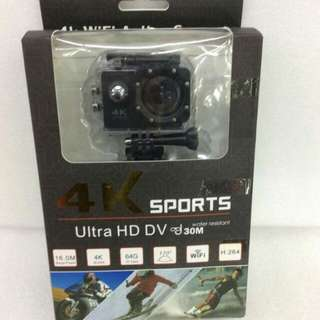 4k ultra HD sports cam