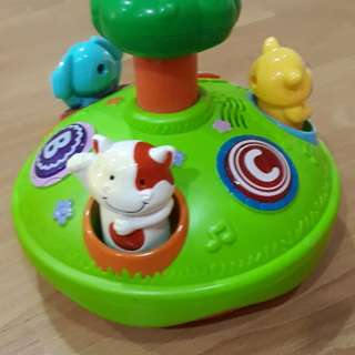 Top spin toys