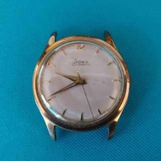 Vintage Germany Stowa Automatic Watches (Goldplated bezel) 古董手錶