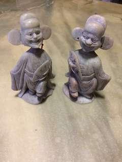 Mini stonecraft  figurines