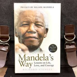 《Bran-New + Hardcover Edition + Preface by Nelson Mandela》Richard Stengel - MANDELA'S WAY : Lessons on Life, Love, and Courage