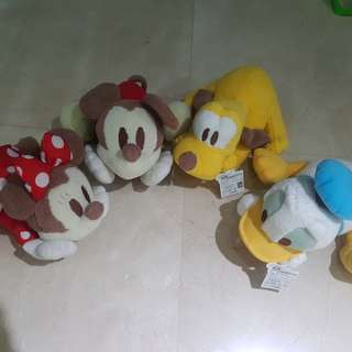 Mickey n friends collectible. All 4