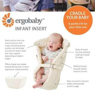 Ergobaby Organic Infant Insert - Natural