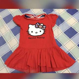 Red Hello Kitty Dress