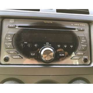Toyota Axio Car Stereo & CD Player