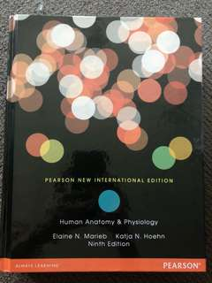 PEARSON NEW INTERNATIONAL HUMAN ANATOMY & PHYSIOLOGY