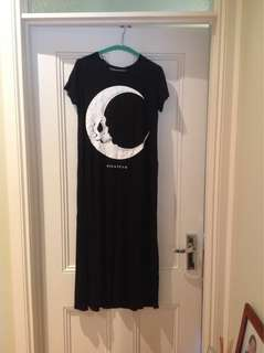 Killstar black moon dress