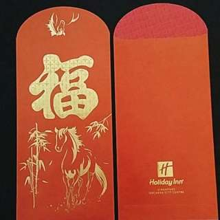 8pcs HOLIDAY INN RED PACKET