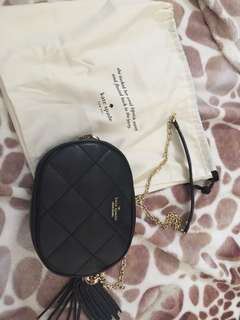 Kate Spade New York Emerson Place Tinley Leather Crossbody Bag Black Women's Bags