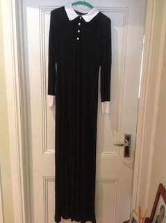 Killstar long sleeve maxi dress