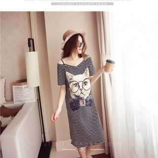 Korean cat dress