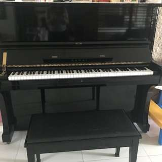 Used kawai piano.  Model BL-61. Serial #K844081. This is a full size, professional series Kawai upright manufacture in Japan. It is similar to the Yamaha U3. The piano is still in good condition