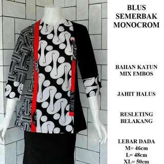 Blouse Batik Semerbak