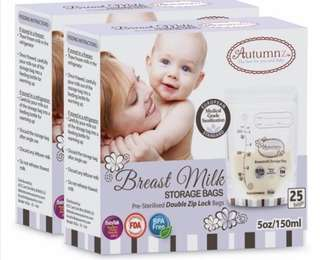 Autumnz Breast Milk Storage Bag 5 oz