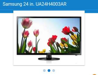 "Samsung 24"" Led tv"