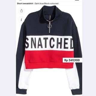 h&m snatched sweater